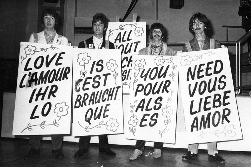 All you need is love John Lennon