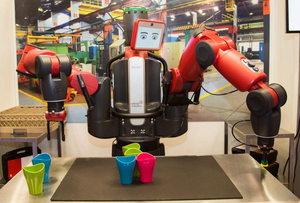 Korona Virüsü Robot İşçiler