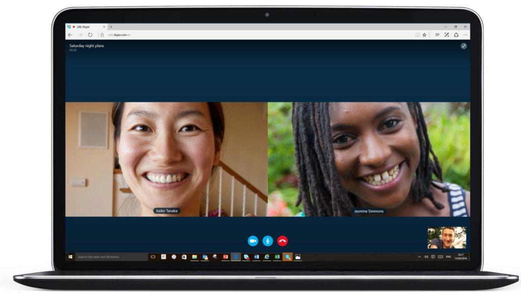 Skype Görüntülü Arama Uygulaması